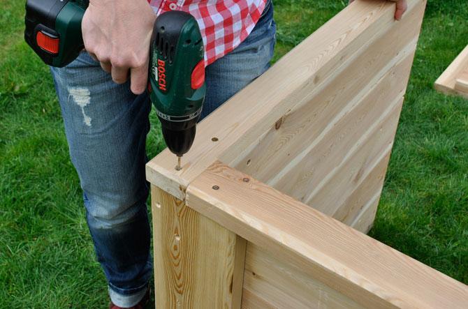 Hochbeet Bausatz Schnell Und Einfach Aufzubauen
