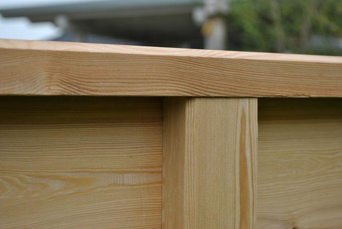 Hochbeete Aus Larchenholz Perfekt Fur Der Garten